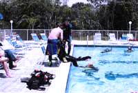 Rescue Diver Course Pool